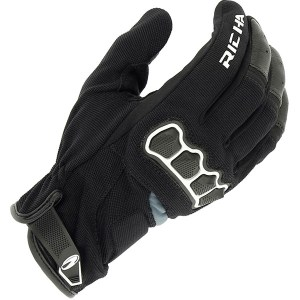 Cheapest Richa Spyder Mixed Glove - Black / White Price Comparison
