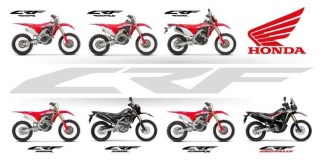 Honda announces full CRF range for 2019