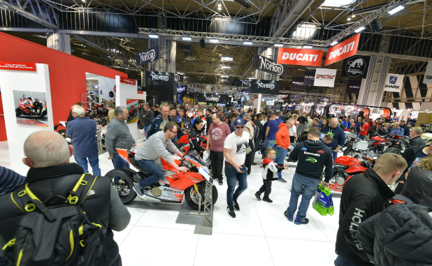 Own a classic motorbike from the 90s? Show it at Motorcycle Live 2019.