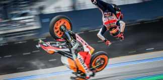 MotoGP's Reigning Champ Marquez Got Into A Gnarly Crash
