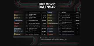 MotoGP Announces Updated 2020 Racing Schedule