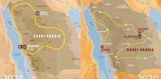 2021 Dakar Rally Route