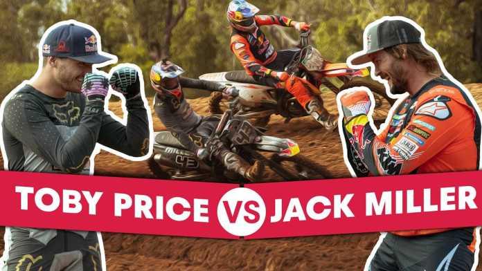 MotoGP Racer Jack Miller Vs. Dakar Winner Toby Price