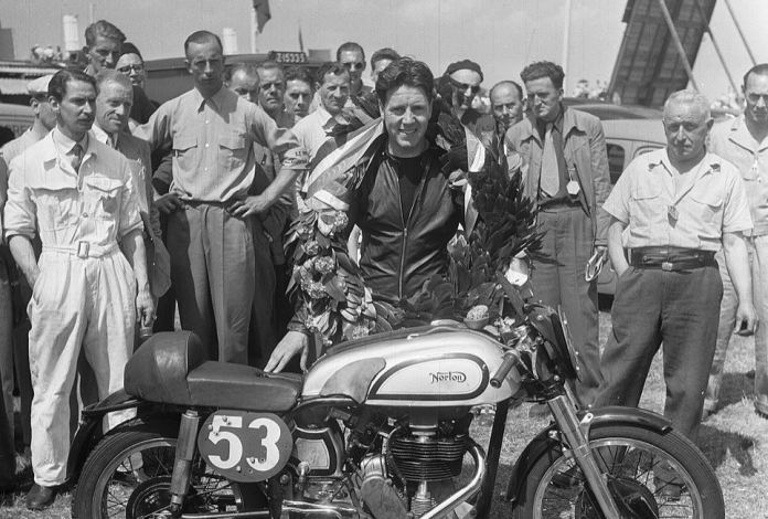 british motorcyclke legend