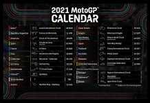 2021 MotoGP Provisional Calendar
