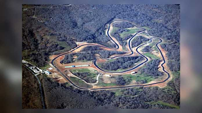 Ozarks International Raceway Overhead View