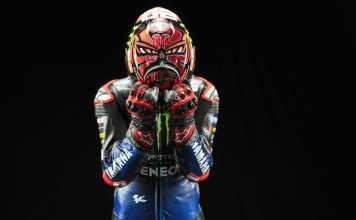 2021 Monster Energy Yamaha YZR-M1 - Fabio Quartararo - Helmet