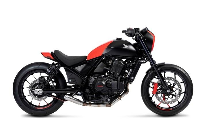 Radical customs showcase the Dual Personality of the Honda CMX1100 Rebel