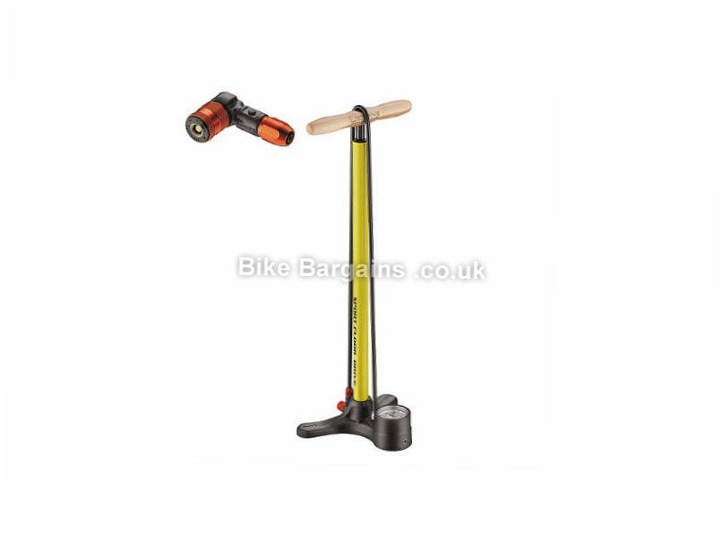 Lezyne Sport Drive ABS2 Track Pump was sold for £36! (Red