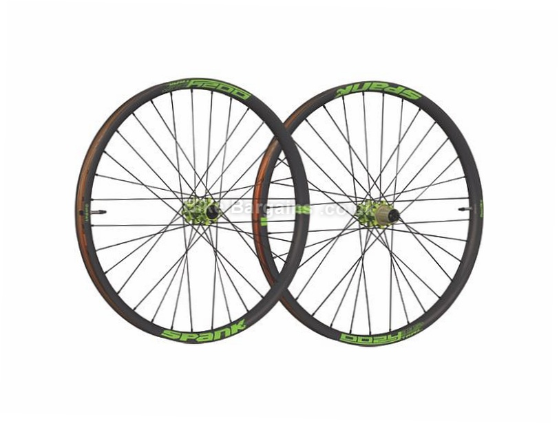 Spank Oozy Trail 395+ Bead Bite Disc Mountain Bike Wheels