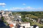 Blick aus dem Hotelzimmer - Saint-Flour