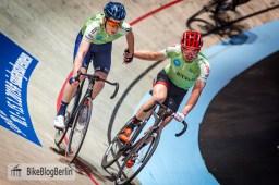 Otto Vergaerde (blauer Helm) & Henning Bommel (roter Helm)