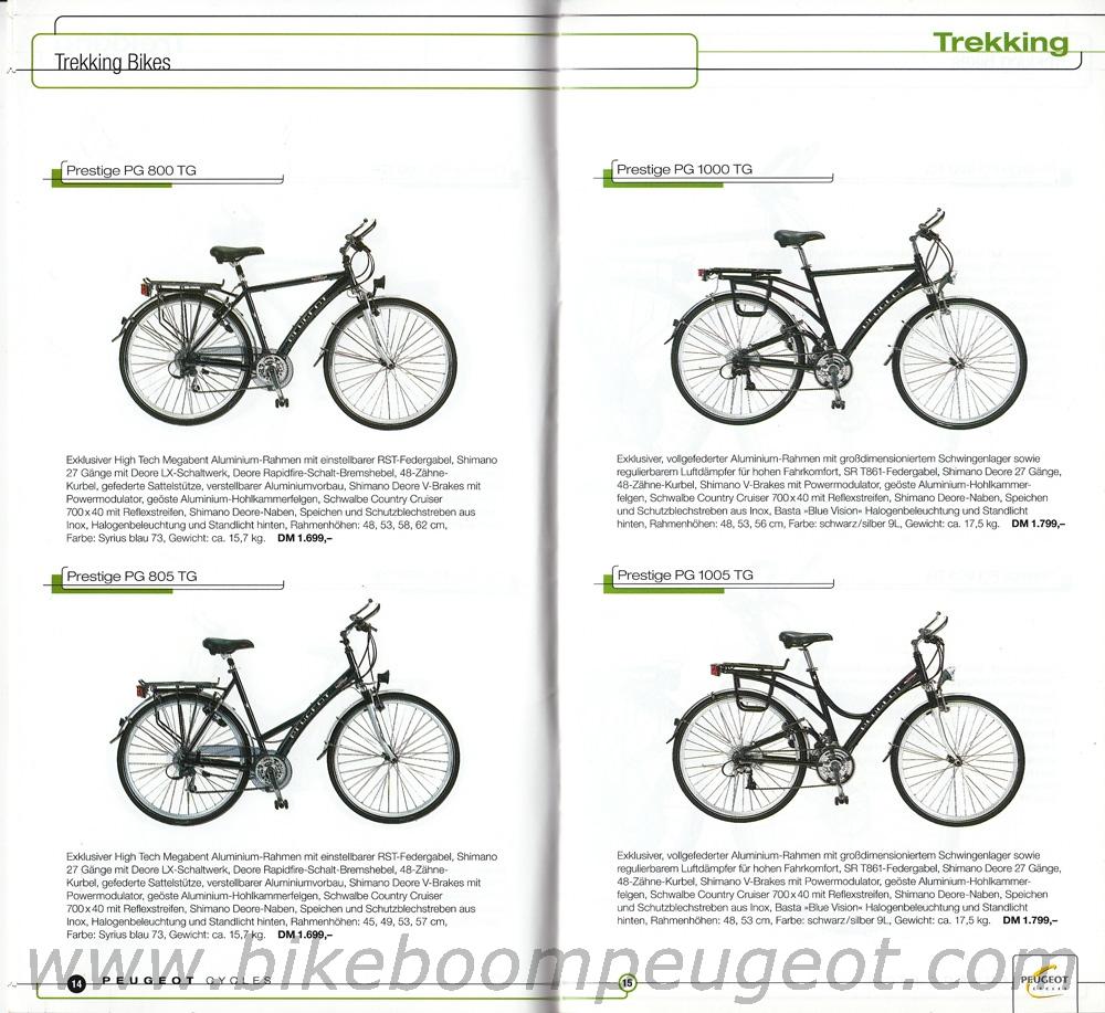 Peugeot 2000 Germany Brochure