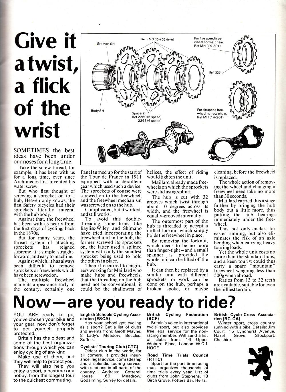 Peugeot 1982 Brochure United Kingdom