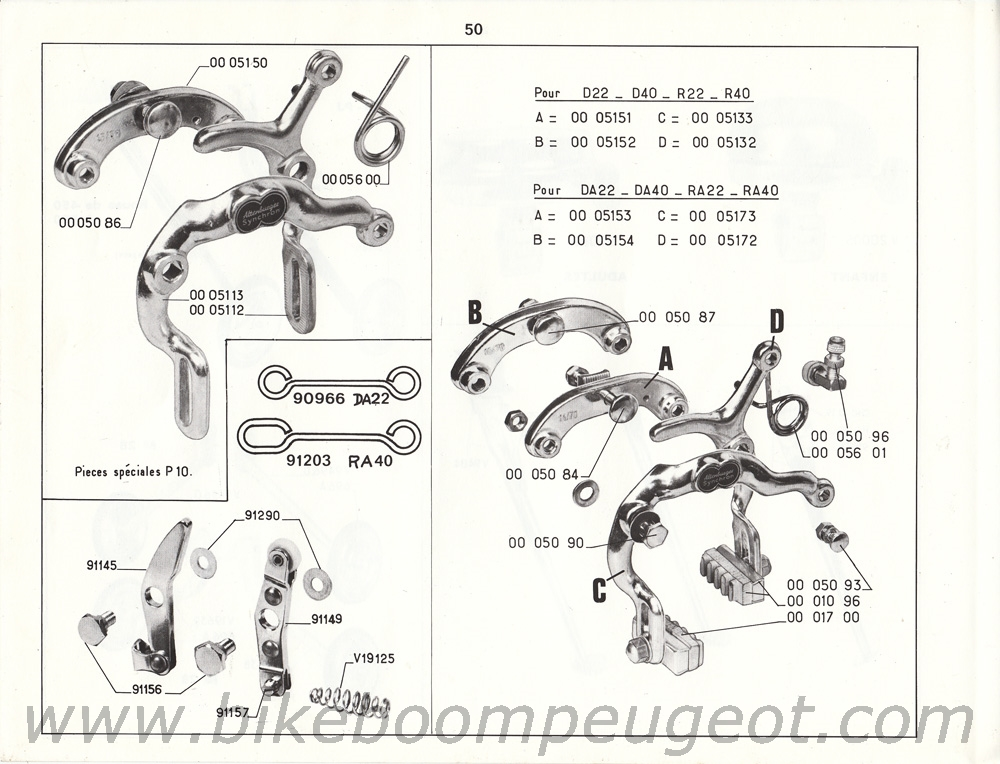 Peugeot 1968 Master Catalogue