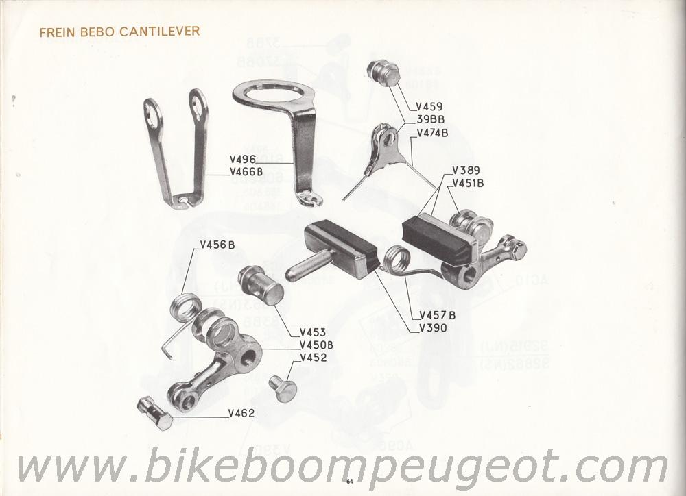 Peugeot 1972 Master Catalogue