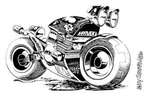 Kawasaki Z650 Custom by Darren Carter