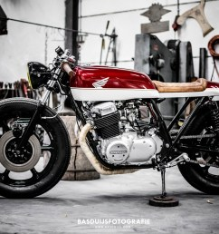 honda cb750f cafe racer by wrench kings [ 1500 x 1000 Pixel ]