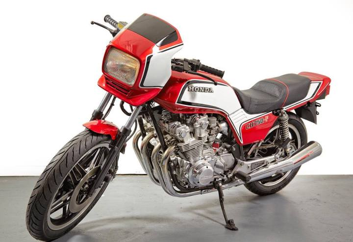 Honda Cb750f Street Racer By Vintage Iron Club Bikebound
