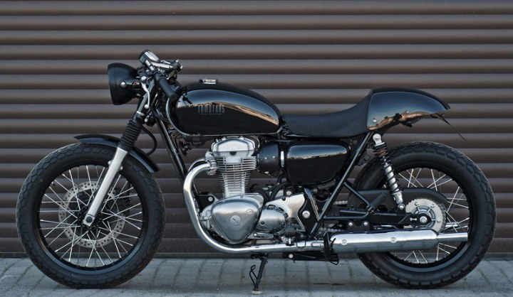 Kawasaki W800 Cafe Racer The Best Bikes For Builds Bikebound