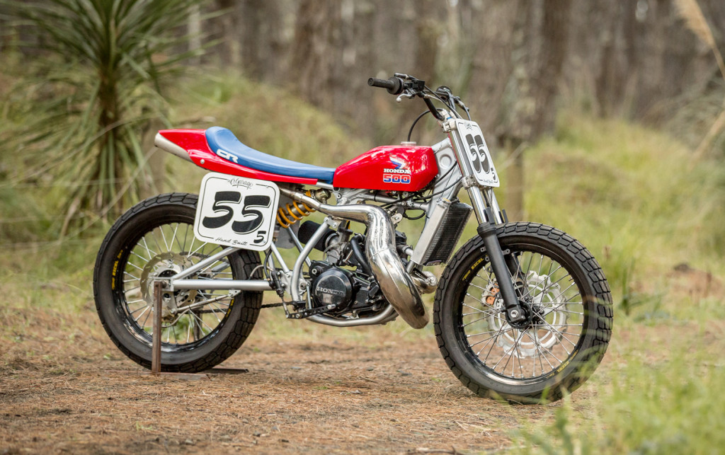 Honda CR500 Tracker BikeBound
