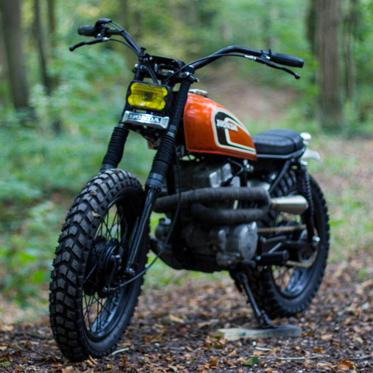 hight resolution of enter max inhulsen of the netherlands who bought his 1982 honda cm250 for 250 from a man living in a former mental hospital in the woods