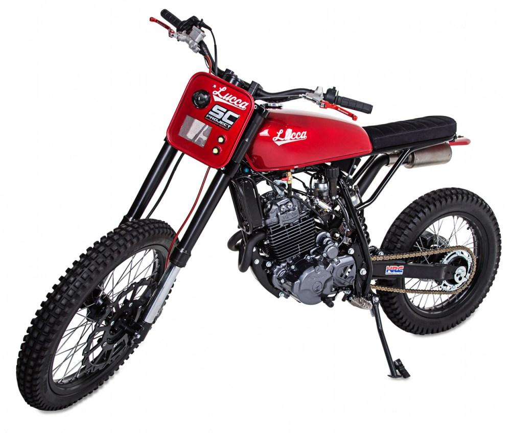 medium resolution of honda nx350 scrambler by lucca customs x wolf motorcycles