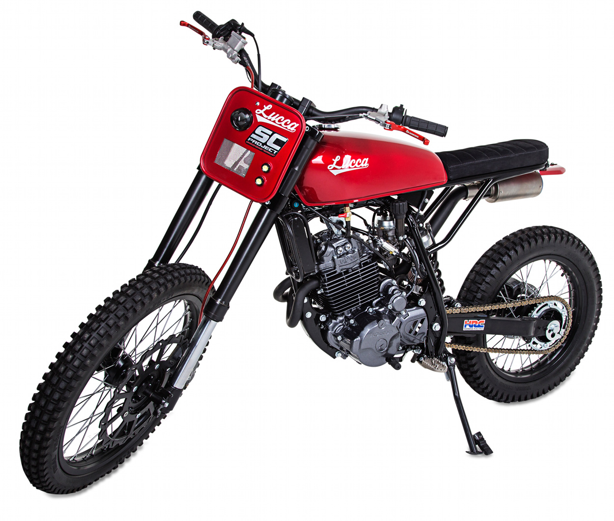 hight resolution of honda nx350 scrambler by lucca customs x wolf motorcycles