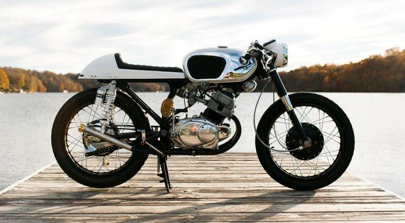 Honda Cb160 Cafe Racer By Jeanie Sallings Bikebound