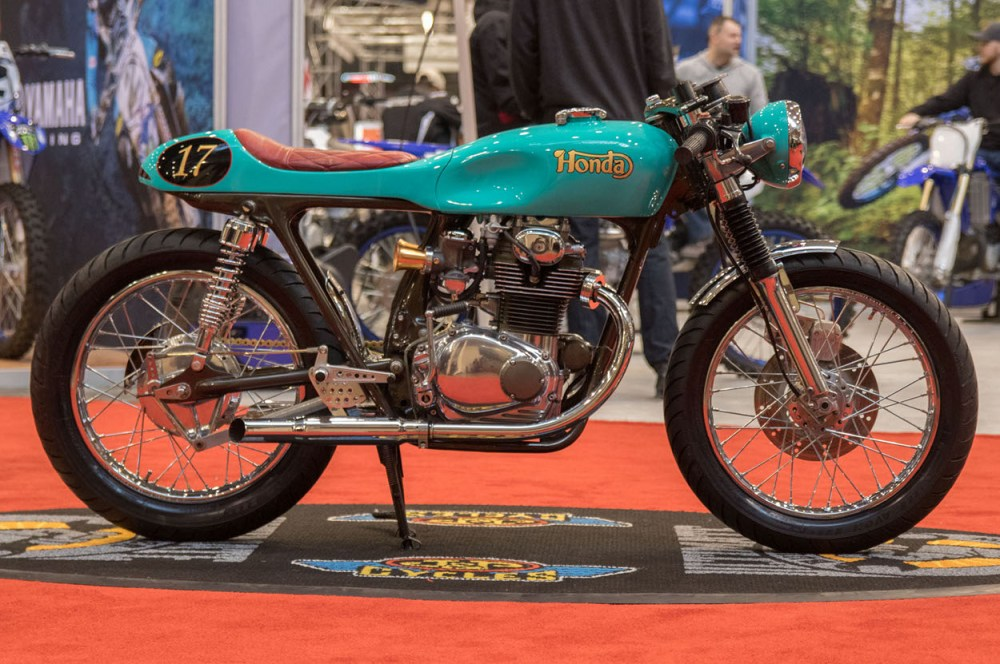 medium resolution of andrew certainly accomplished his goal recently the bike took first place in the modified retro class at the cleveland international motorcycle show and