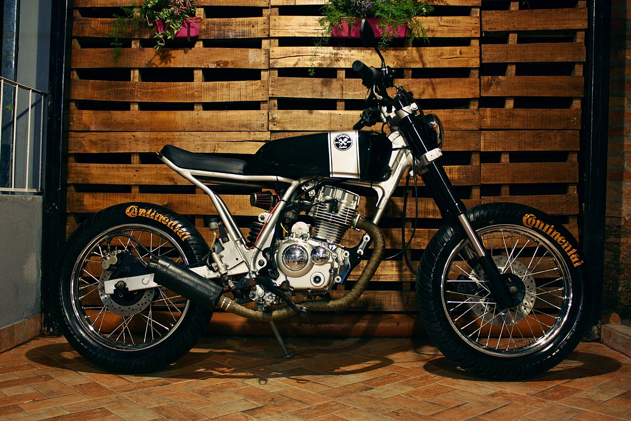hight resolution of leopard 125 scrambler by santiagonza custom garage