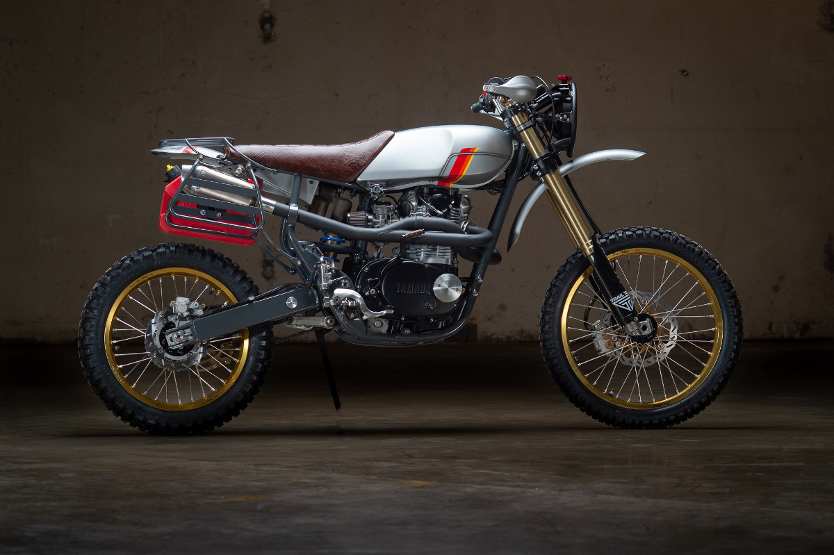 Kawasaki Bighorn 350 Street Tracker By Fifty Two Cycles