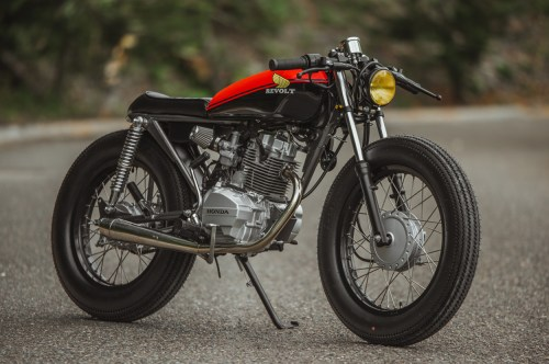 small resolution of honda 125 brat cafe by revolt cycles
