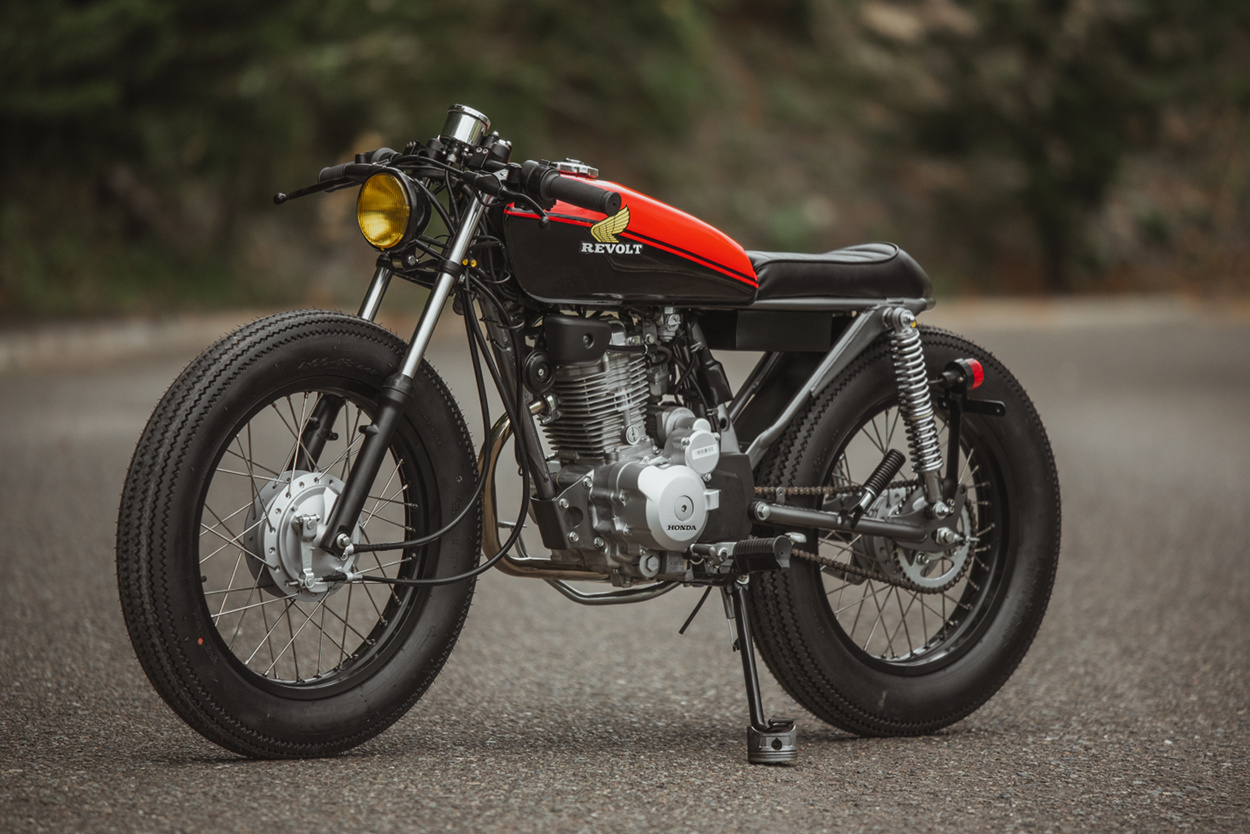 hight resolution of these honda 125cc singles have long been hailed as punchy bulletproof performers over the years they are also a favorite customization platform for one of