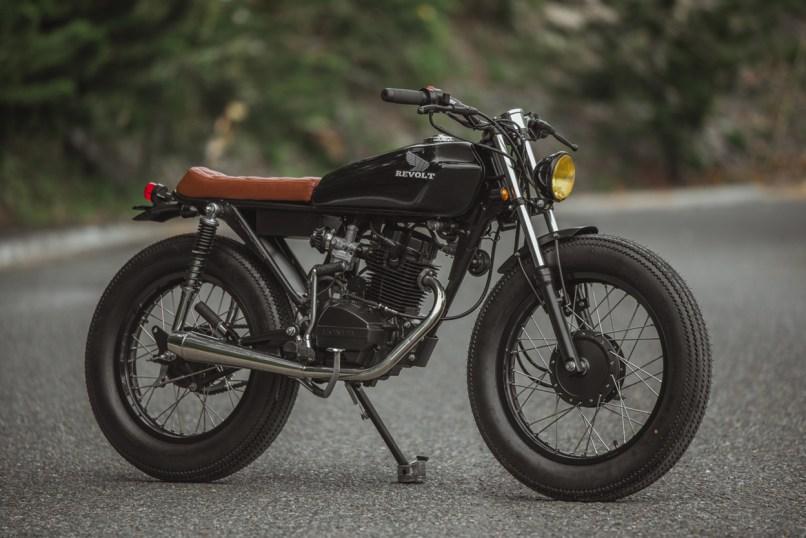 Honda 125 Blanko By Revolt Cycles