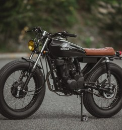 now the crew is back with an rvlt32 blanko a honda 125 brat tracker built for the daily commute below we get the full story on the build  [ 1250 x 834 Pixel ]