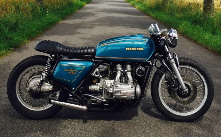 Honda Gl1000 Goldwing Cafe Racer By 85 Sd Bikebound