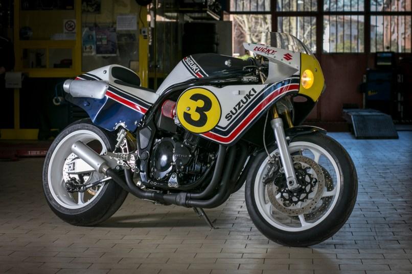 Suzuki Cafe Racer 2018