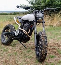 honda slr650 by thornton hundred motorcycles honda slr650 scrambler [ 1250 x 906 Pixel ]