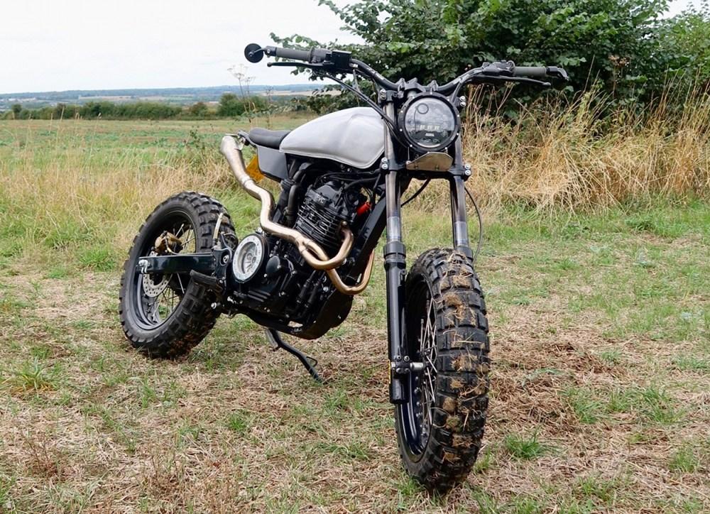 medium resolution of honda slr650 by thornton hundred motorcycles honda slr650 scrambler
