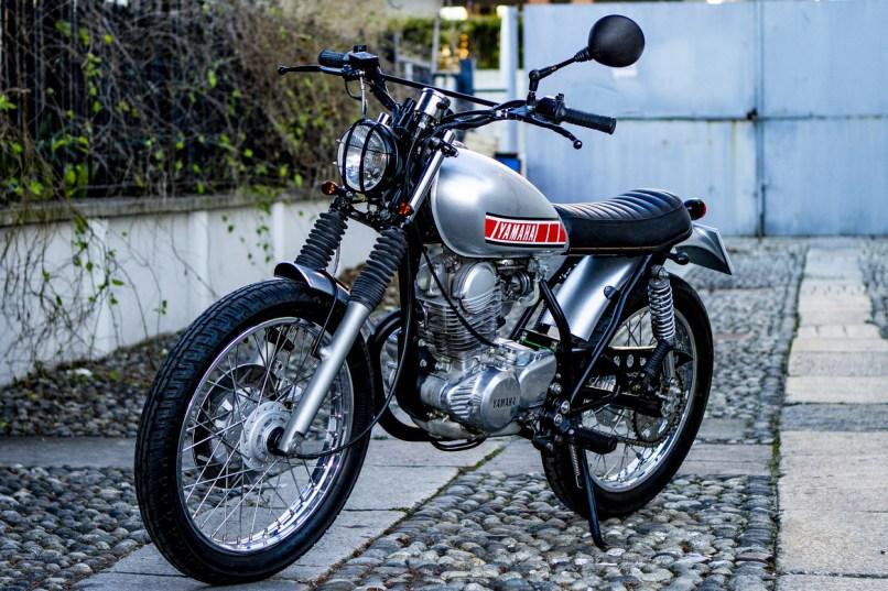 Yamaha Sr250 Custom By Officina Serrao