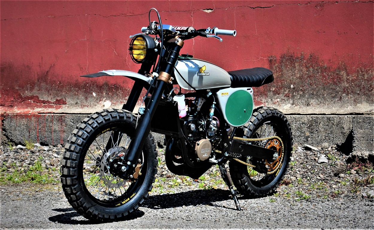 hight resolution of elsinore tribute honda cr250 scrambler by andrew greenland