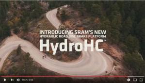 silniční brzdy Sram HydroHC