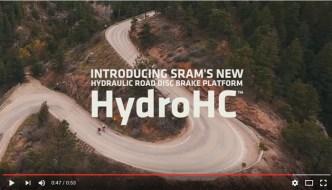 Nové silniční hydraulické brzdy Sram HydroHC