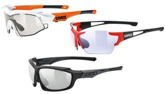 Fotochromatické sluneční brýle Uvex