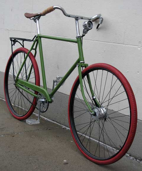 bikecultbikeworks nycarchive bicyclesraleigh DL1 roadster