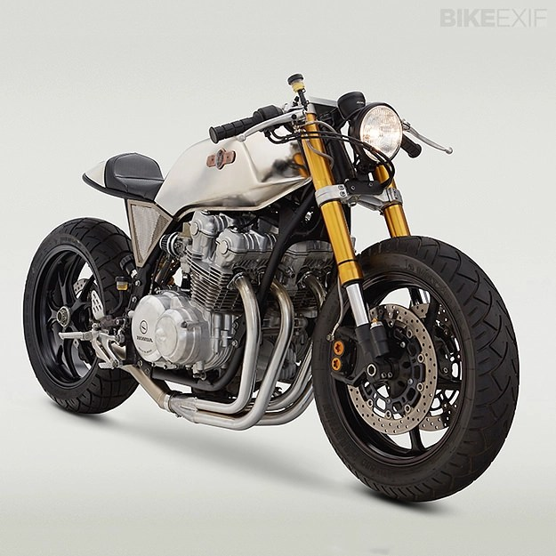 But This New Build From Classified Moto A Postmodern Take On The Classic Honda CB Cafe Racer