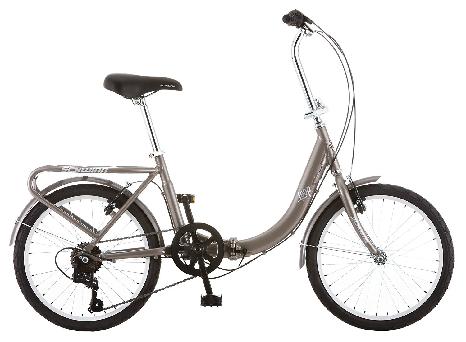 Schwinn Loop Folding Bike Review  Cheap Secure and Easy