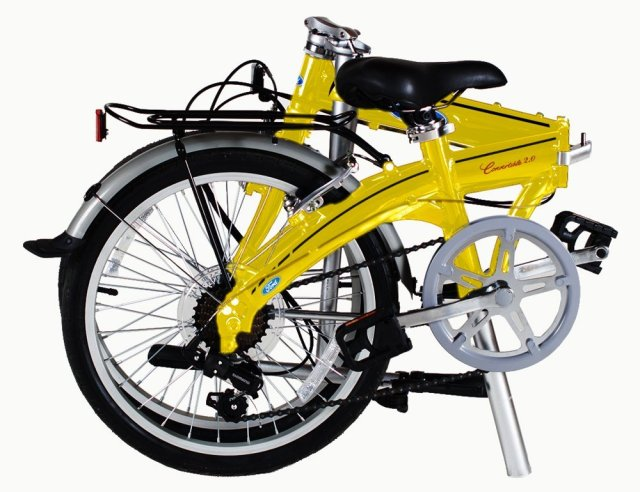 Ford by Dahon Convertible 2.0 7-Speed Folding Bicycle Review
