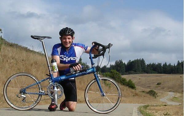 Bike Friday Pocket Rocket folding bike owned by Jim Langley